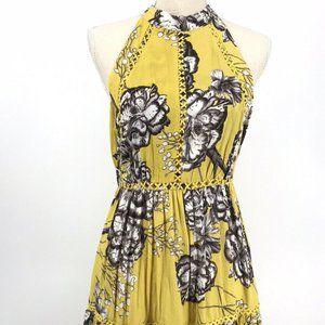 Jaase Women's Mustard Summer Sundress Size-XL